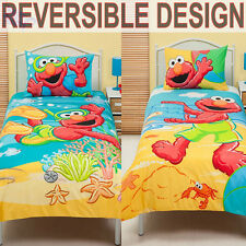 Elmo Beach Fun Duvet | Doona Quilt Cover Set | Single
