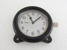 AVRM ZChZ Vintage Russian Tank T-34 & USSR Aircraft Helicopter Clock SERVICED