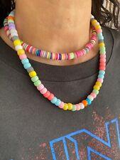 Nueva Pulsera de Carolina Personalizado Pastel Perlas De Vidrio nombre de Carta de Oro Bucci