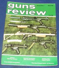 GUNS REVIEW MAGAZINE MARCH 1983 - THE UBERTI .22 SINGLE ACTION REVOLVER