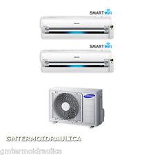 Climatizzatore Dual Split Samsung Inverter AR9000M Wi-Fi 12+12 12000+12000 AJ050