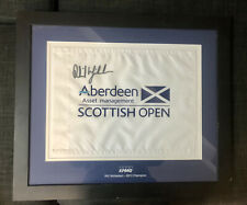 Phil Mickelson Autographed Tee Flag
