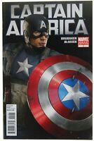 Captain America 1 Chris Evans Photo Variant VF 8.0 2011 Marvel Comics Brubaker