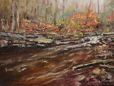 Sean Wu original oil painting 12x16 on canvas panel