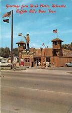 NORTH PLATTE NE 1963 Fort Cody Trading Post VINTAGE NEBRASKA ROADSIDE  536