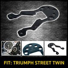MOTO TRIO GAUGE BRACKET Fit: TRIUMPH STREET TWIN