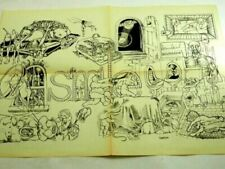 Open Edition Print Cartoon Cartoons & Caricatures Art Prints