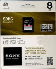 Sony 8GB SDHC Card - OEM - SF8NX/TQM