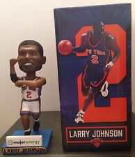 Larry Johnson New York Knicks 2015 4 Point Play SGA Bobblehead Hornets UNLV NBA