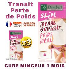 3x Tisane Laxative Damhert Tea Slim Poids Idéal Thé Transit Minceur Détox Régime