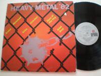 HEAVY METAL '82 V.A. SPAIN LP VINYL 1982 Motorhead URIAH HEEP Gillan KROKUS