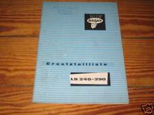 Teilekatalog Welger Miststreuer LS 240 - 290 von 1970