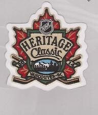 2014 TIM HORTONS HERITAGE CLASSIC PATCH  VANCOUVER CANUCKS Vs. OTTAWA SENATORS