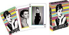 Audrey Hepburn lot de 52 cartes à jouer + Jokers (NM)