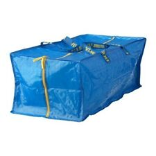 IKEA FRANKTA X Large Bag Trunk Blue Camping Travel Shopping W/Zipper Foldable
