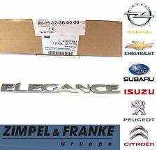 "[NEU]Originaler Opel Schriftzug ""Elegance"" [GM-NR: 93171861]"