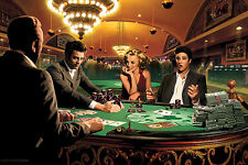 MARILYN MONROE HUMPHREY BOGART JAMES DEAN PLAYING POKER 8X10 SMALL POSTER print