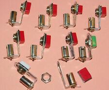 vintage SATO JAPAN ELECTRONIC holder PIN bulb base color SUPPORT DIODE AMPOULE