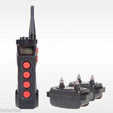 Aetertek 919C Pet Electronic Shock Collar Training For Serious Hunt Two Dog 1KM