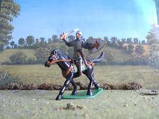 Supreme Medievale russo montato Cavaliere attacca 60mm