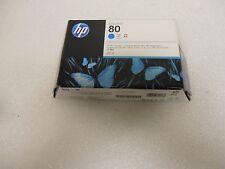 Genuine HP 80 DesignJet 1000 Cyan Ink Cartridge C4846A Sealed Box OEM