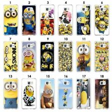 Minions Matte Mobile Phone Cases & Covers for Samsung