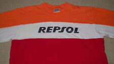 REPSOL MOTO Honda T-Shirt Men's Size XL Multi-Color Motorbike Motorcycle Racing