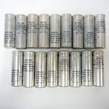 LOT OF 17 PCS. SPRAGUE EXTRALYTIC CAPACITOR 602D206A1 6600uF 30VDC 7617L
