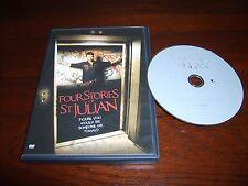 FOUR STORIES OF ST. JULIAN (DVD,2010,WS)~UNRATED~DAVID ALAN GRAF~NICHOLL HIREN