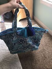 LILLY PULITZER TOTE BAG MULTI BLUE