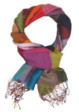 Bunte Damen-Schals aus Seidenmischung
