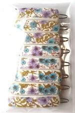 8 x Flower Retro Vintage Hair Accessories Snap Hair Clips Slides Hair Grip 4.5cm