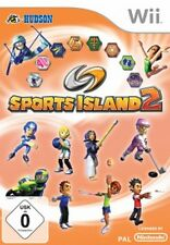 Nintendo Wii +Wii U SPORTS ISLAND 2 * 10 SPIELE Sehr guter Zustand