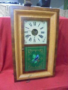 1885 Seth Thomas Striking OG Shelf Clock With Reverse Painting
