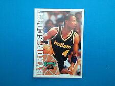1995-96 Panini NBA Basketball Sticker N.206 Byron Scott Vancouver Grizzlies