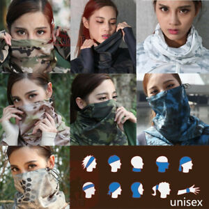 Unisex Tactical Neck Gaiter Outdoor Balaclava Headwear Special Forces FaceMask