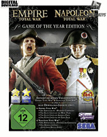 Empire and Napoleon Total War GOTY Steam Download Key Digital Code [DE] [EU] PC