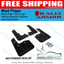 Rally Armor for 13-18 Subaru BRZ/Scion FR-S UR Black Mud Flap w/ Red Logo