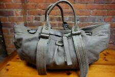TIMBERLAND 100% Leather TAUPE large shoulder bag. Butter soft leather. £192.00