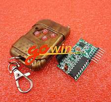 Ic2262/2272 4 Channel Wireless Remote Control Kits 4 key wireless remote 433mhz