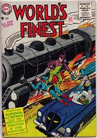 WORLD'S FINEST COMICS #80 1956 VG+ Superman/Batman rival Reporters +Green Arrow!