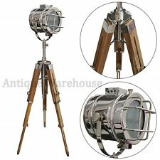 Modern Christmas & New Year Decorative Chrome Spot Light Floor Lamp With Tripod