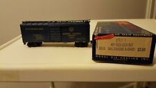 Vintage Roundhouse HO Scale 40' BOX CAR  Baltimore and  Ohio # 1907