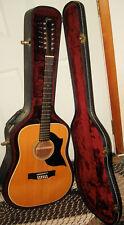 1980's Goya G430 12 String Guitar W/ Hardcase MIJ