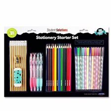 Stationery Set- School Office Pens Colouring Pencils Markers - Children Gift Set