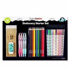 Set CANCELLERIA-SCUOLA UFFICIO penne matite colorate pennarelli-set regalo bambini