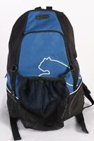Puma Vintage Unisex Sport Backpack Bag Black Blue - BG711