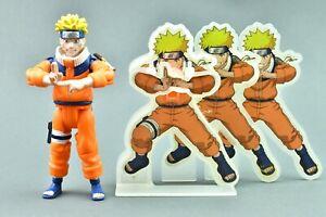 Naruto Uzumaki Shadow Clone Jutsu Masashi Kishimoto Action Figure Mattel