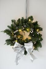 Christmas Pine Wreath 84cm 33 inch diameter with Real Cones