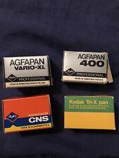 4 Expired Vintage films, Lomography